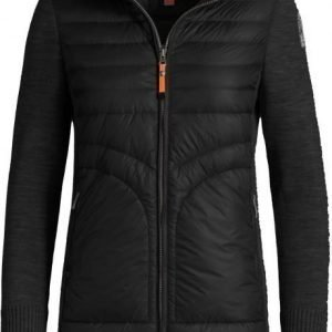 Parajumpers Anuri Long Down W Knit Musta M