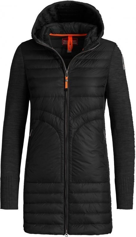 Parajumpers Anuri Long Down W Knit Musta XS