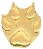 Partiotuote Akela-merkki kultainen