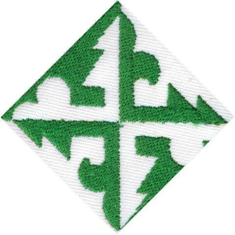 Partiotuote PT-kisamerkki vihreä