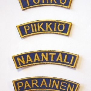 Partiotuote Paikkakuntatunnukset Åbo