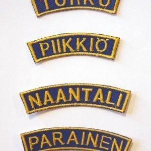 Partiotuote Paikkakuntatunnukset Ylöjärvi