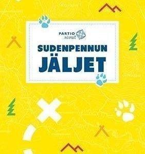 """Partiotuote Sudenpennun jäljet -kirja """"UUSI"""""""