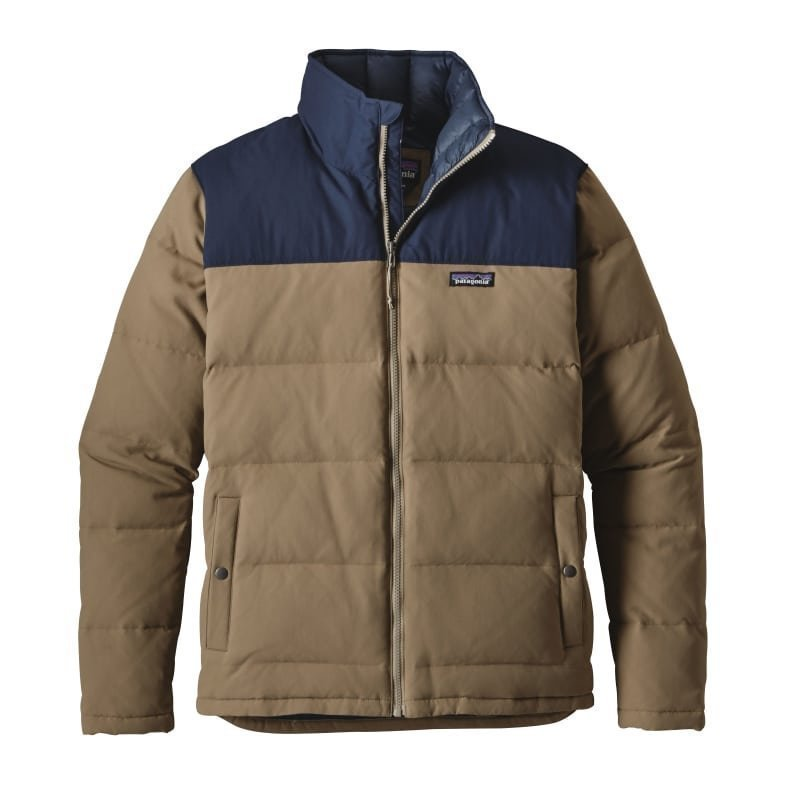 Patagonia Men's Bivy Down Jacket XL Ash Tan