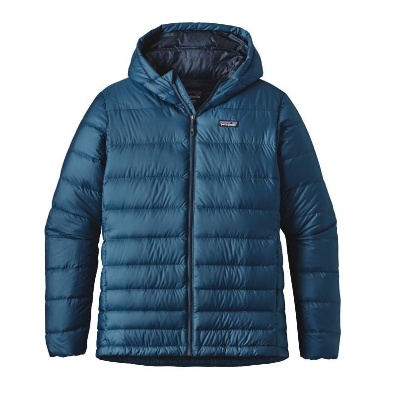 Patagonia Men's Hi-Loft Down Hoody L Glass Blue