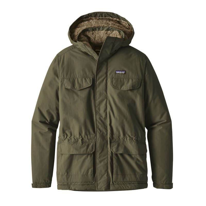 Patagonia Men's Isthmus Parka XL Industrial Green