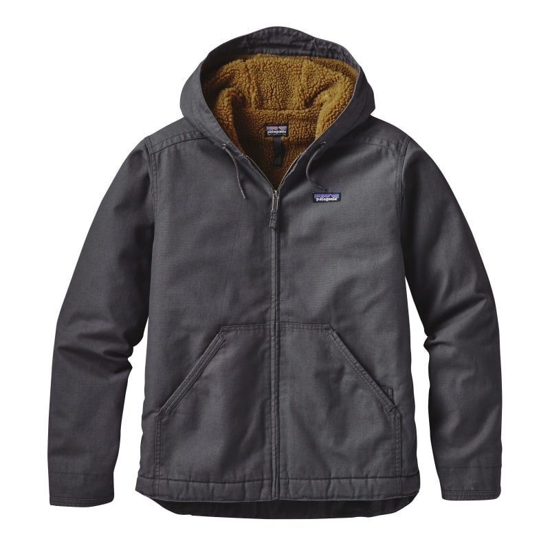 Patagonia Men's Lined Canvas Hoody M Forge Grey