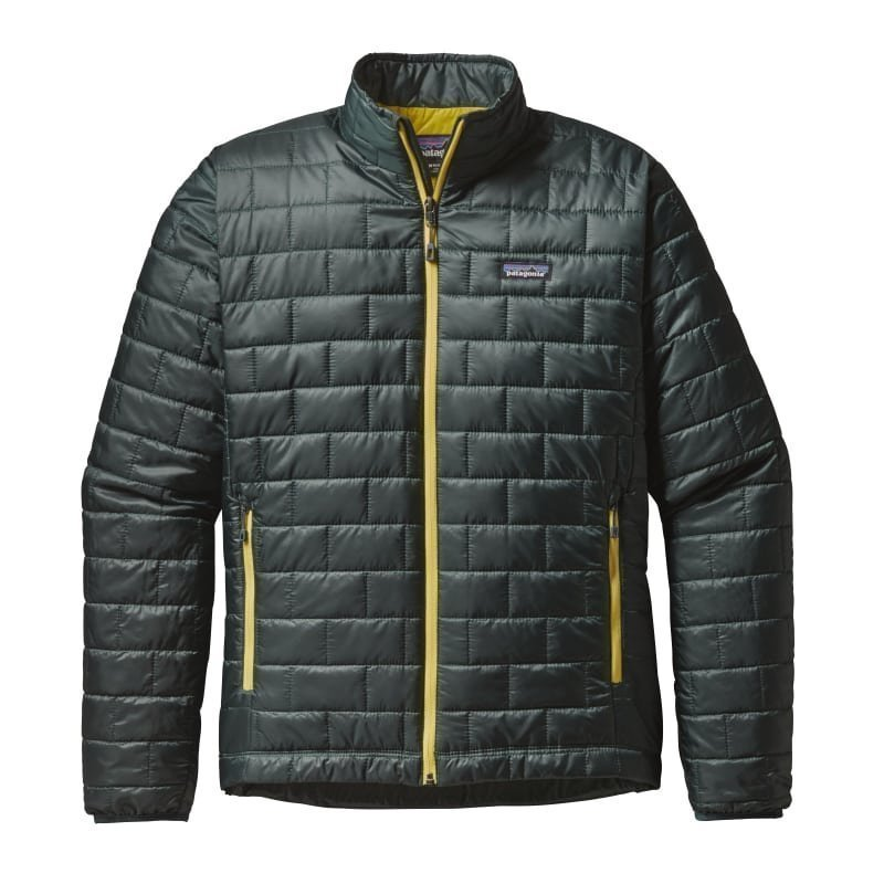 Patagonia Men's Nano Puff Jacket L Carbon