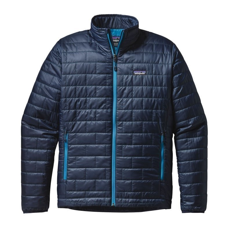 Patagonia Men's Nano Puff Jacket S Navy Blue