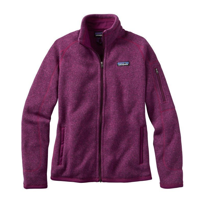 Patagonia Women's Better Sweat Jacket L Violet Red