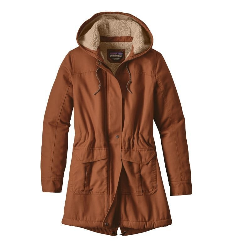 Patagonia Women's Insulated Prairie Dawn Parka L Saddle
