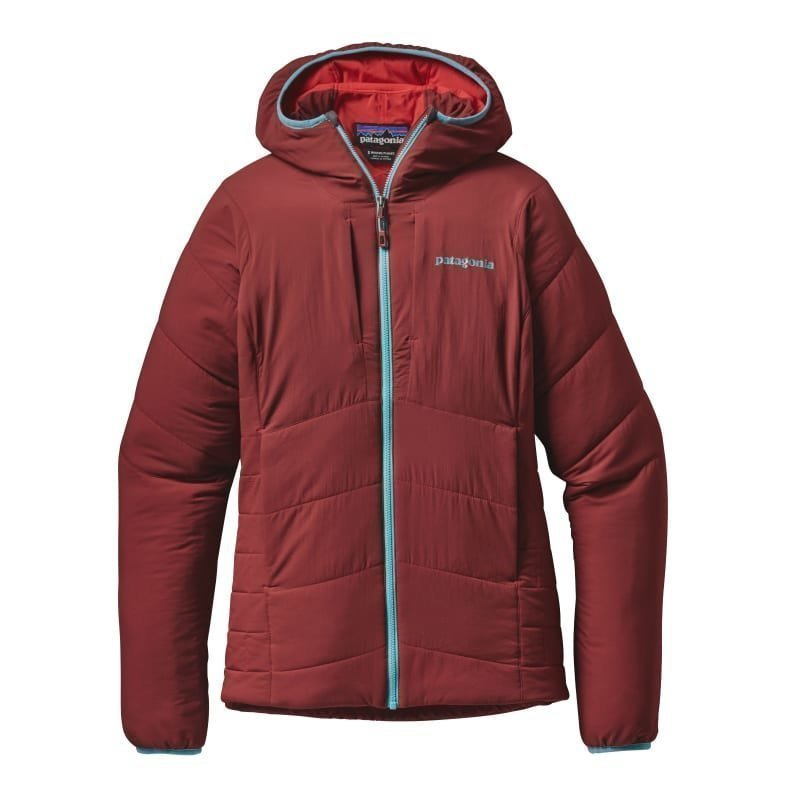 Patagonia Women's Nano-Air Hoody L Drumfire Red