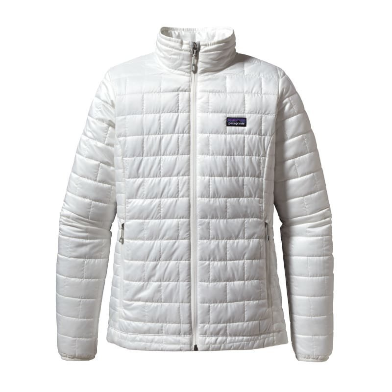 Patagonia Women's Nano Puff Jacket L Birch White