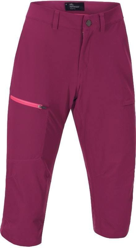 Peak Performance Amity 3/4 Women's Pants Raspberry XS