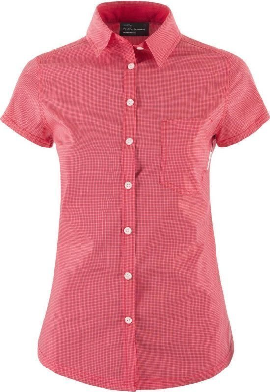 Peak Performance Diosaz SS Women's Shirt Vaaleanpunainen M