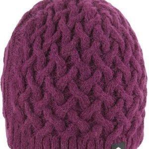Peak Performance Embo Knit Hat Tummanpunainen L/XL