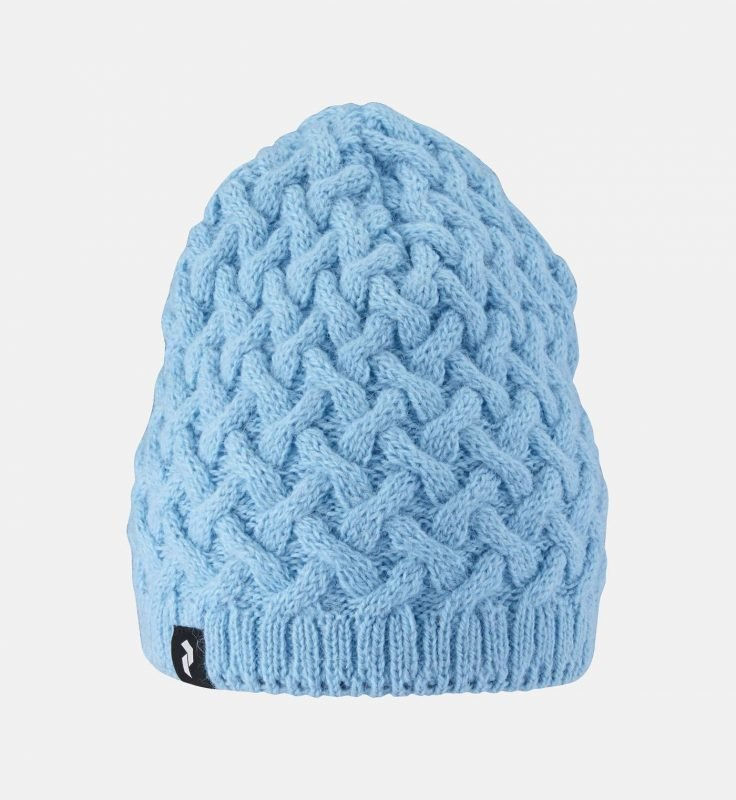 Peak Performance Embo Knit Hat Vaaleansininen L/XL