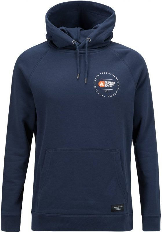 Peak Performance FWT Hoodie Men's Tummansininen L