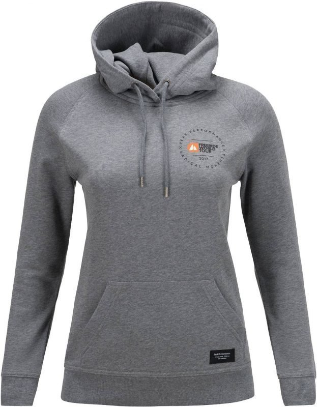 Peak Performance FWT Hoodie Women's Harmaa M