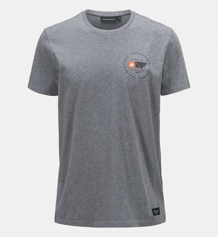 Peak Performance FWT Tee Harmaa XL