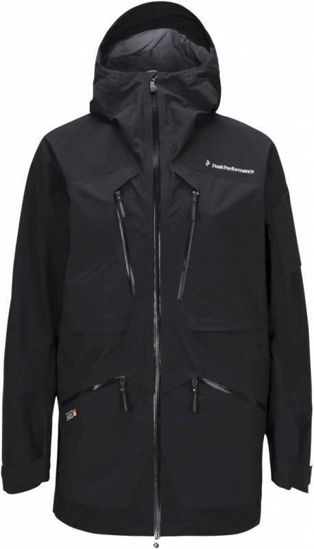 Peak Performance Heli Vertical Jacket Musta XL