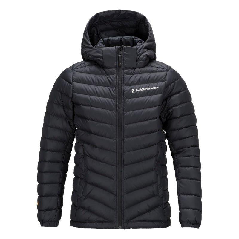 Peak Performance Junior's Frost Down Hood Jacket 130 Black