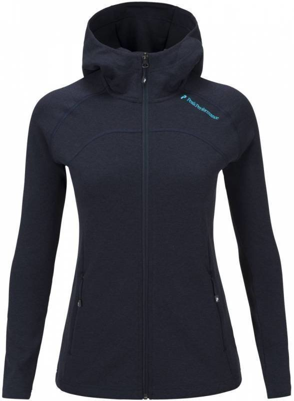 Peak Performance Kate Women's Zip Tummansininen M