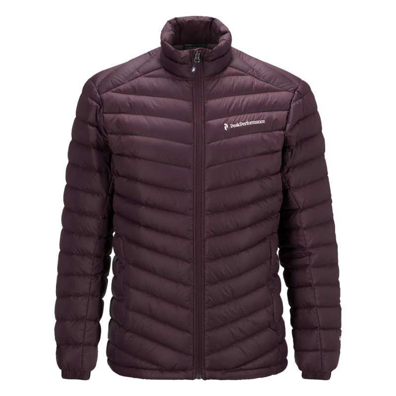 Peak Performance Men's Frost Down Liner Jacket M Mahogany
