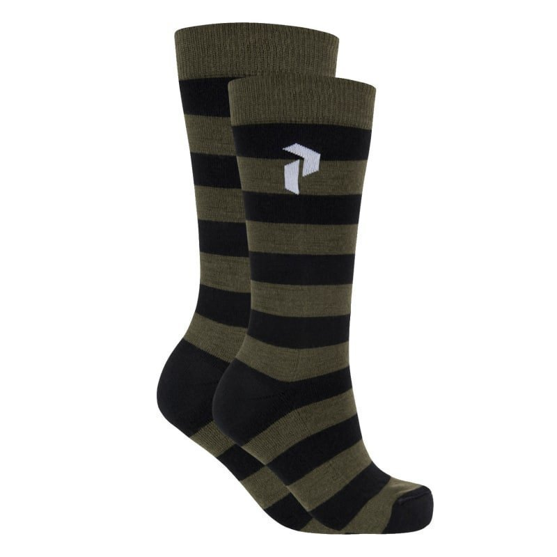 Peak Performance Play Ski Sock 39/42 Forest Night