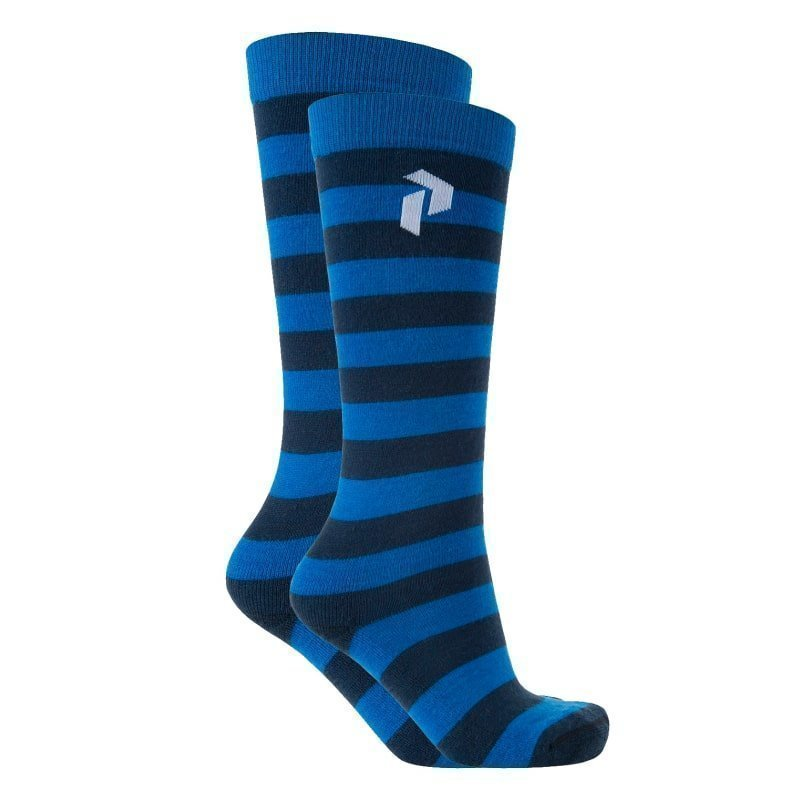 Peak Performance Play Ski Sock 39/42 Hero Blue