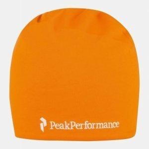 Peak Performance Progress Hat oranssi S/M
