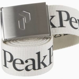 Peak Performance Rider Belt Luonnonvalkoinen