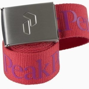 Peak Performance Rider Belt Punainen
