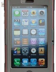 Peli ProGear Vault CE1180 puhelimen suojakotelo harmaa/pun