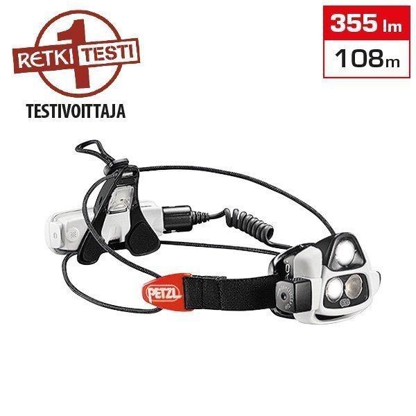 Petzl Nao reaktiivinen LED-otsavalo - 355lm