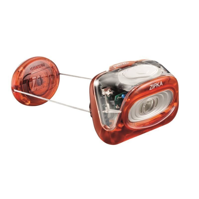 Petzl Zipka ONE SIZE Red