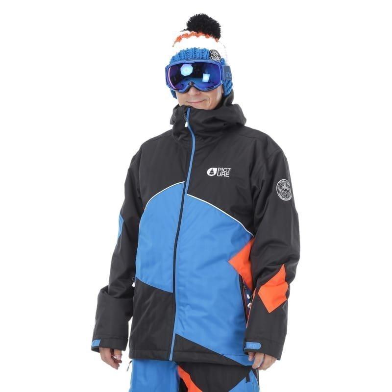Picture Organic Clothing Styler Jacket L Black/Picture Blue/Orange