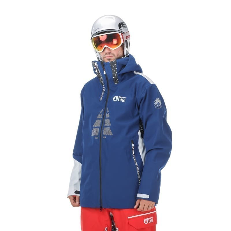 Picture Organic Clothing Track Jacket M Dark Blue