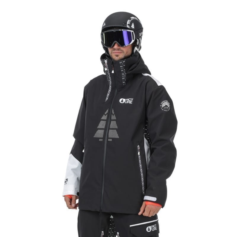 Picture Organic Clothing Track Jacket S Black