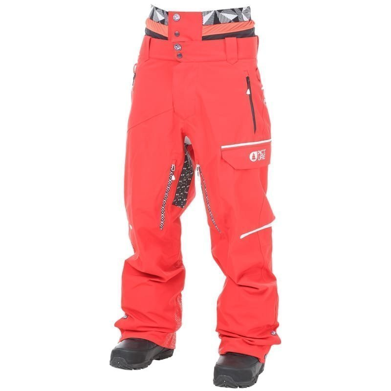 Picture Organic Clothing Track Pant L Red