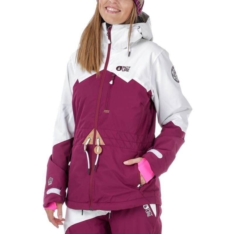 Picture Organic Clothing Weekend Jacket M Wine red