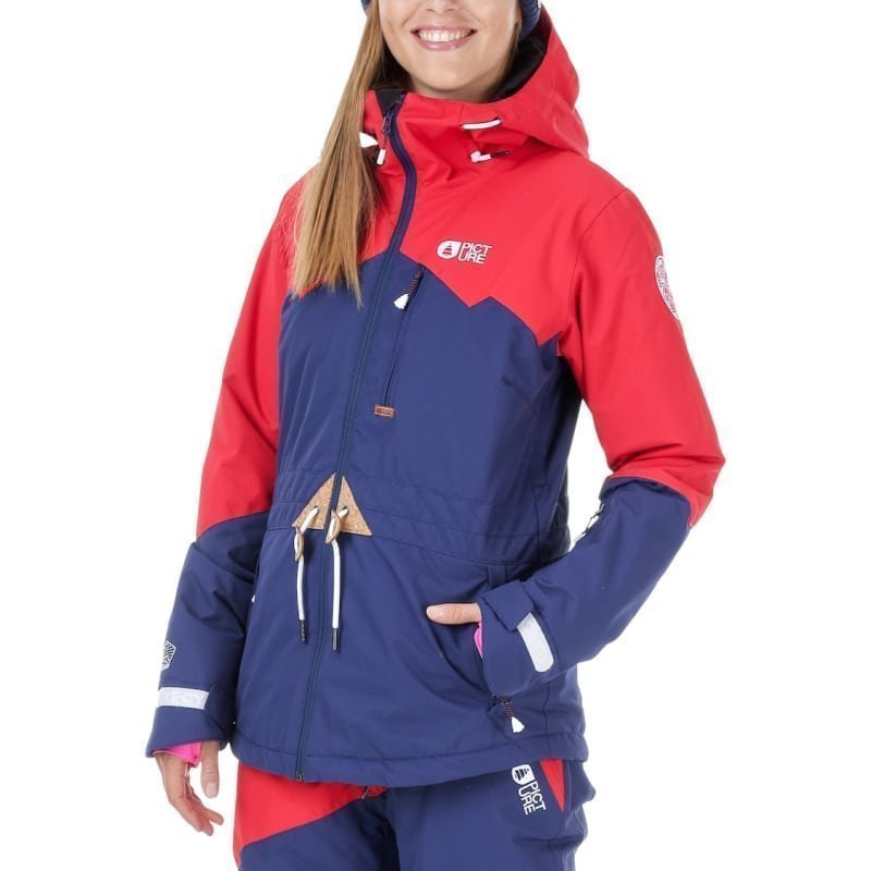 Picture Organic Clothing Weekend Jacket S Red Blue