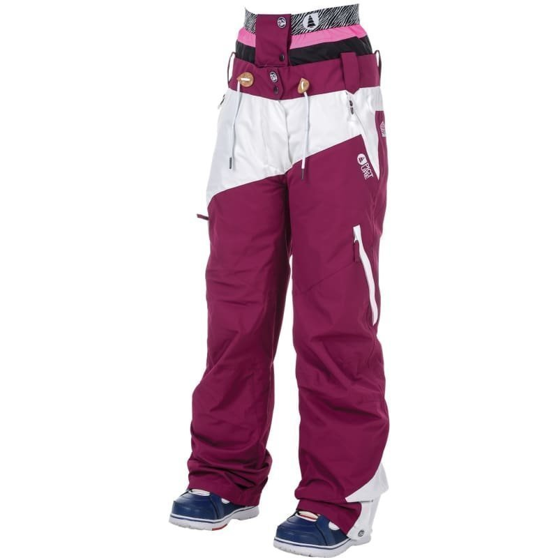 Picture Organic Clothing Weekend Pant S Wine Red