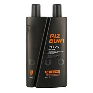 Piz Buin In Sun Moisturising aurinkovoide SPF 6/15 200/100ml duo