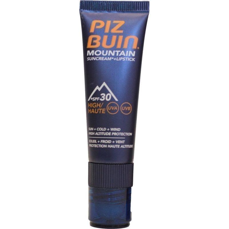 Piz Buin Mountain Sun Cream + Lip Stick voide + huulipuikko SPF 30 20ml