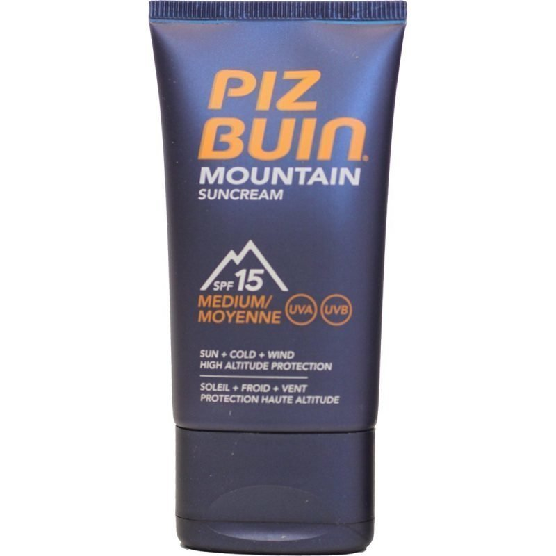 Piz Buin Mountain Sun Cream aurinkovoide SPF 15 40ml