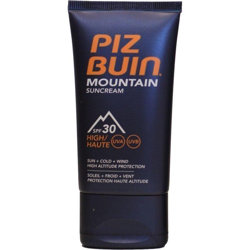Piz Buin Mountain Sun Cream aurinkovoide SPF 50+ 40ml