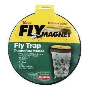 Poison-Free Fly Magnet - Kertakäyttöinen Ampiaispyydys