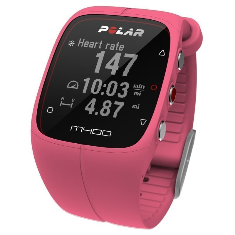 Polar M400 HR No Size Pink