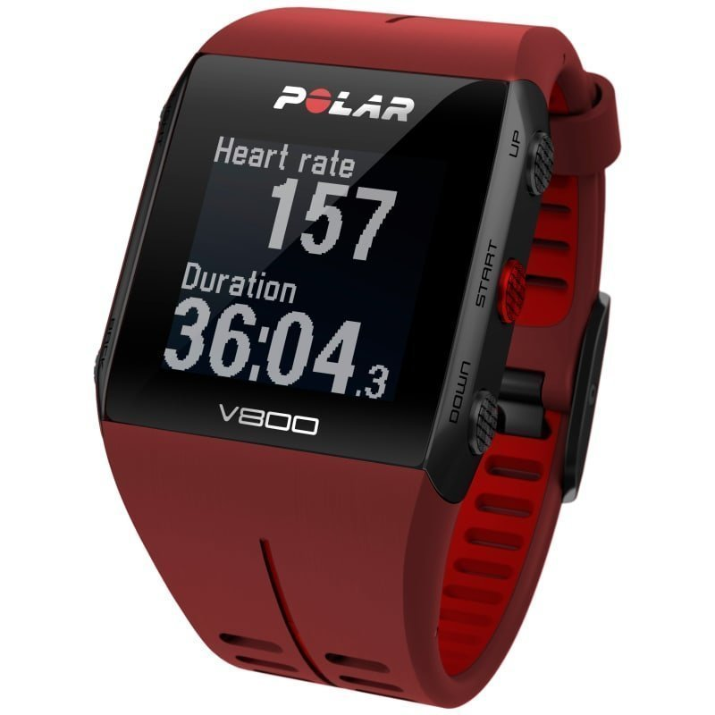 Polar V800 HR 1SIZE Red